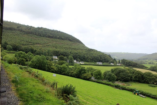 Upland near Aberffrwd