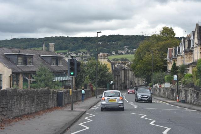 Pedestrian crossing in Wells Road