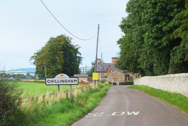 Chillingham Village Sign