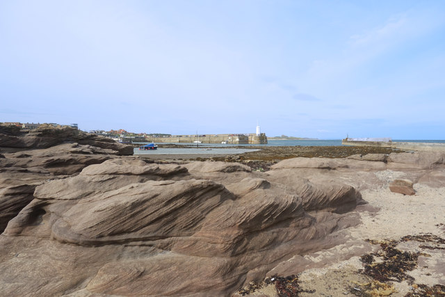 Rocks on Seahouses Point