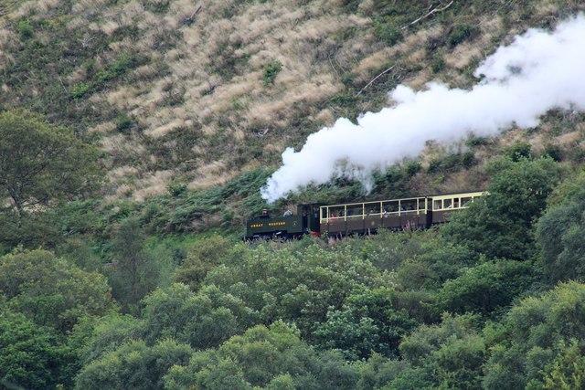 Vale of Rheidol train