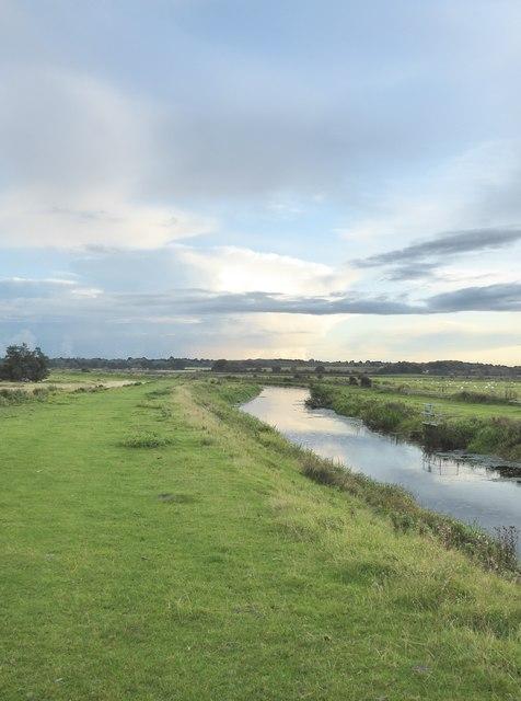 Potman's Heath Channel, view south