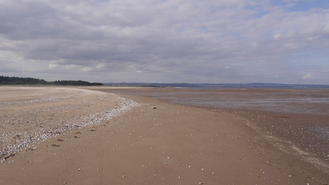 Steep sandbank, Tentsmuir