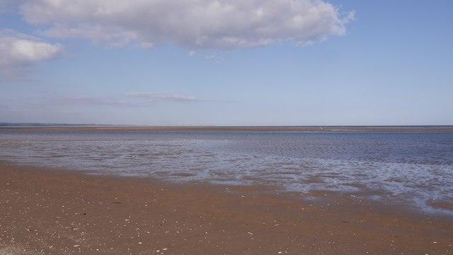 Intertidal area, Tentsmuir