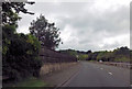 ST7667 : Start of fencing along A46 by John Firth
