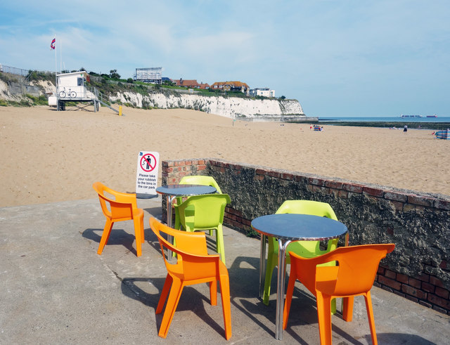 Colourful Chairs at Joss Bay