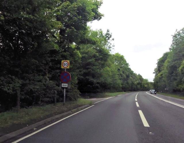 Blacksmith Lane entrance on to A46