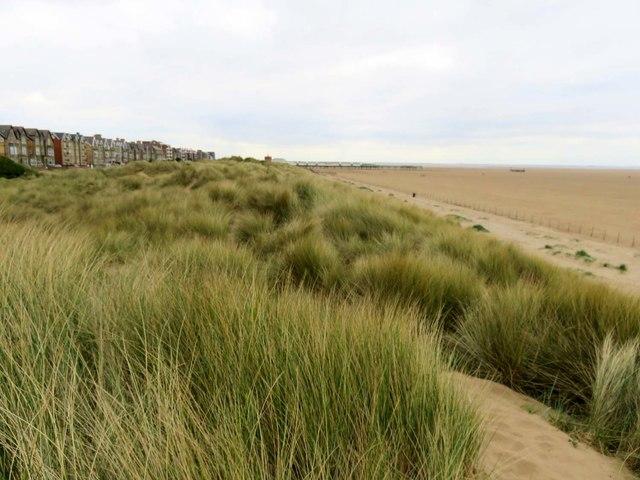 Sand dunes in St Annes