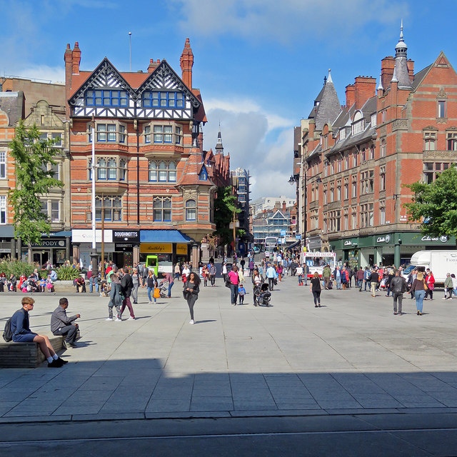 Across the Market Square