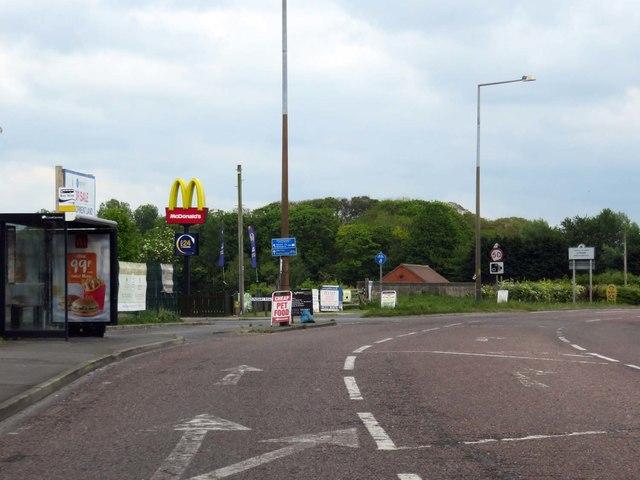 Preston Road heading out of Lytham
