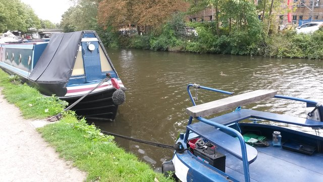 On the Grand Union Canal at Rickmansworth
