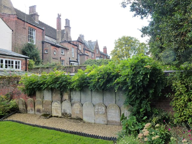 Headstones of The Peckovers of Wisbech