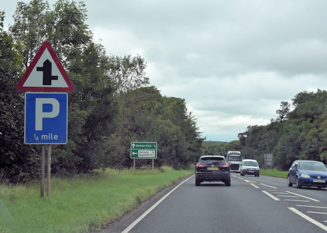 A46 near Oldfield Gate House