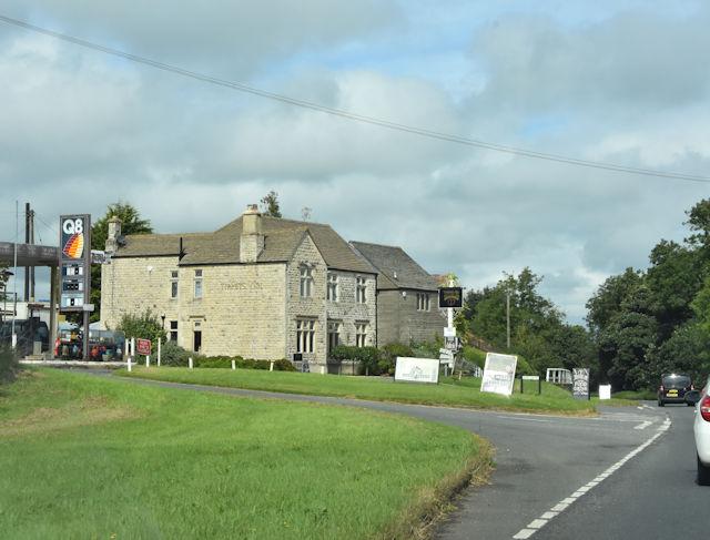 Garage and Public House at Tiltups End