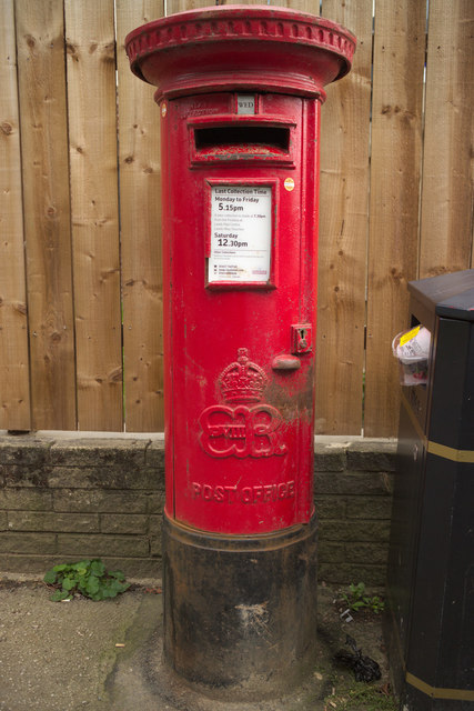 Edward VIII Postbox, Cookridge Lane