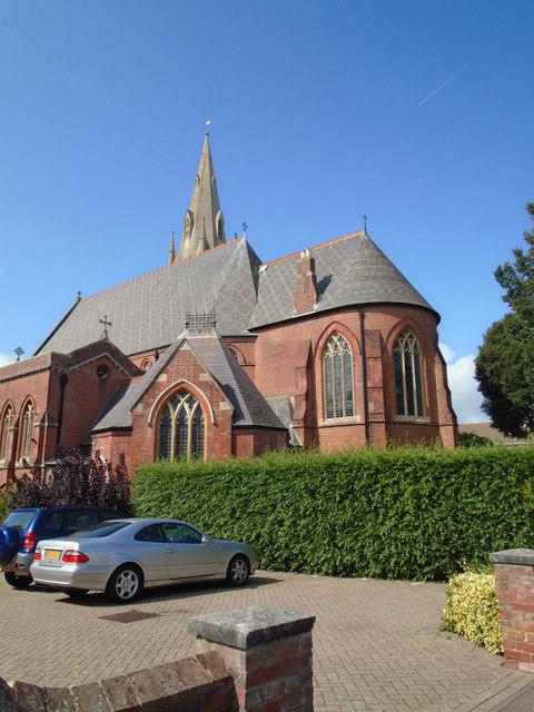 St Saviour's Church. Eastbourne