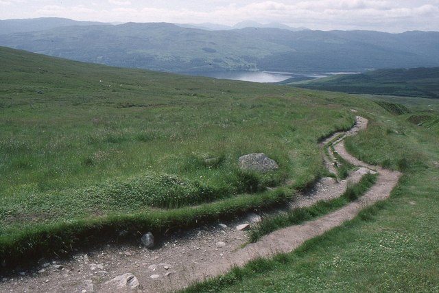 Path from Beinn Ghlas
