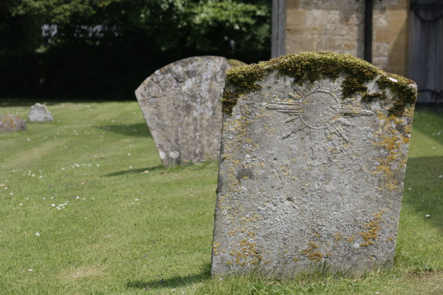 Leaning Headstones