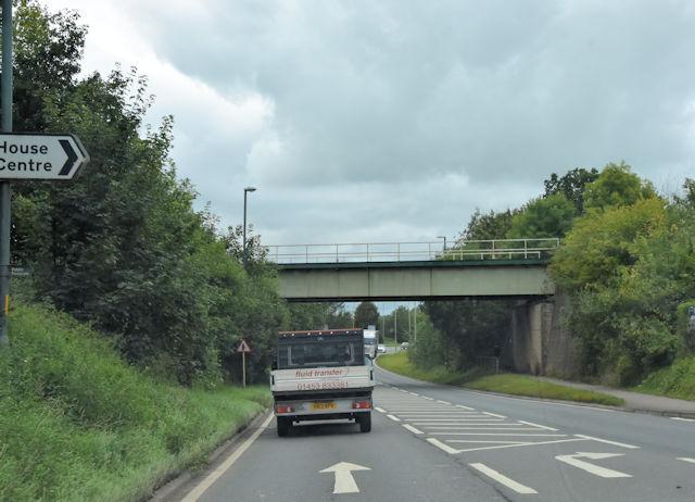 Railway Bridge over Bristol Road
