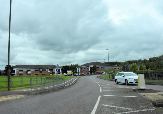 Entrance to Stonehouse business park