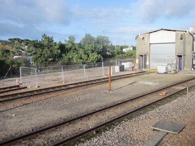 Railway at Long Rock Penzance
