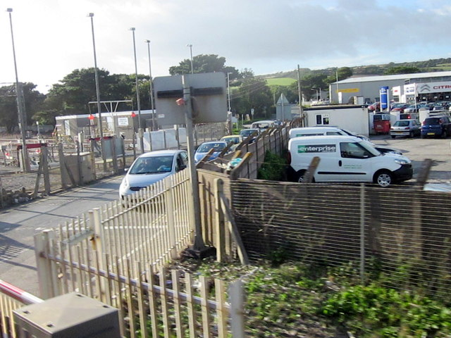 Level Crossing Long Rock Penzance