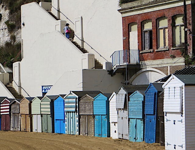 Beach huts, Broadstairs
