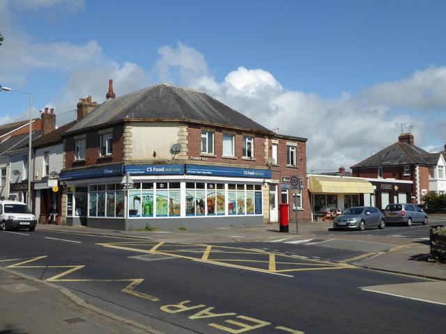 Junction of Cowick Street & Wardrew Road
