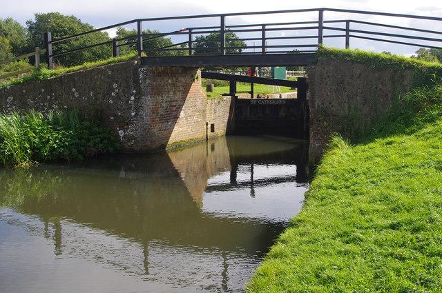 Bridge at St Catherine's Lock