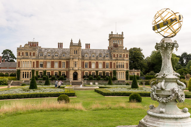 Somerleyton Hall - western frontage
