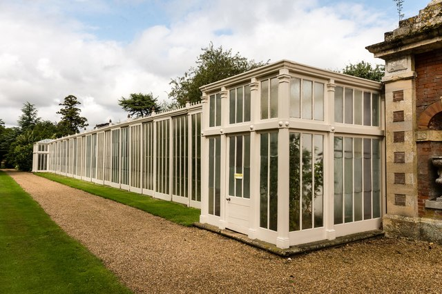 Restored greenhouse, Somerleyton Hall