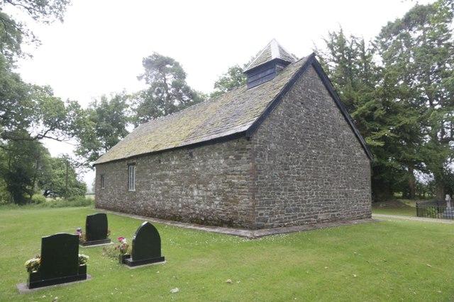 Headstones near the Church