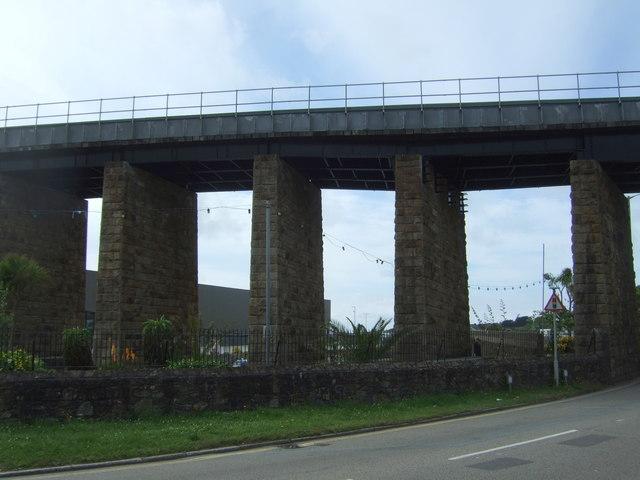 Railway viaduct, Hayle