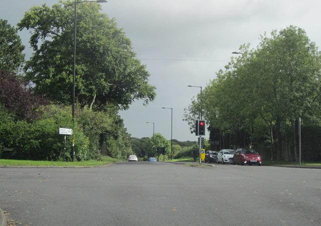 A453 Tamworth Road Crossroads With B4148