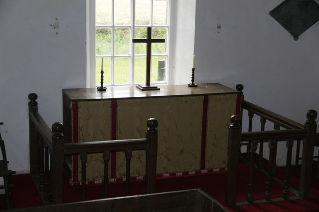 Altar from the Pulpit