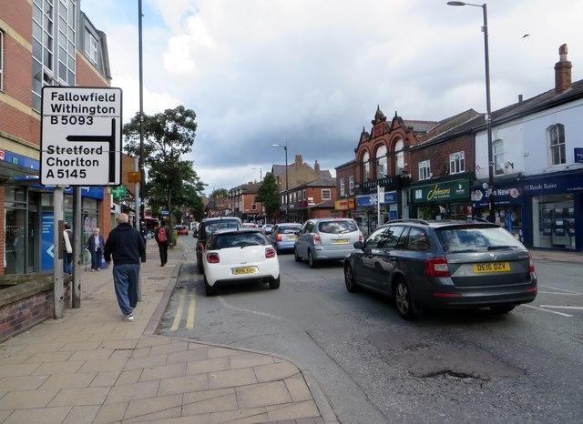Wilmslow Road, Didsbury