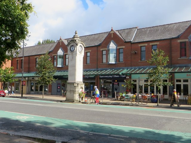 The clock tower, Didsbury