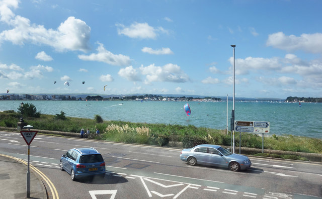 Poole Harbour from Haven Road