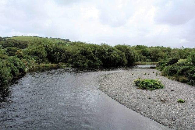 Crossing the Afon Rheidol