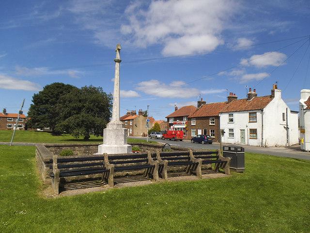 Hutton Cranswick war memorial