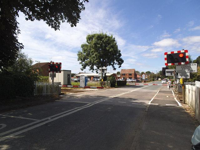 Hutton Cranswick level crossing