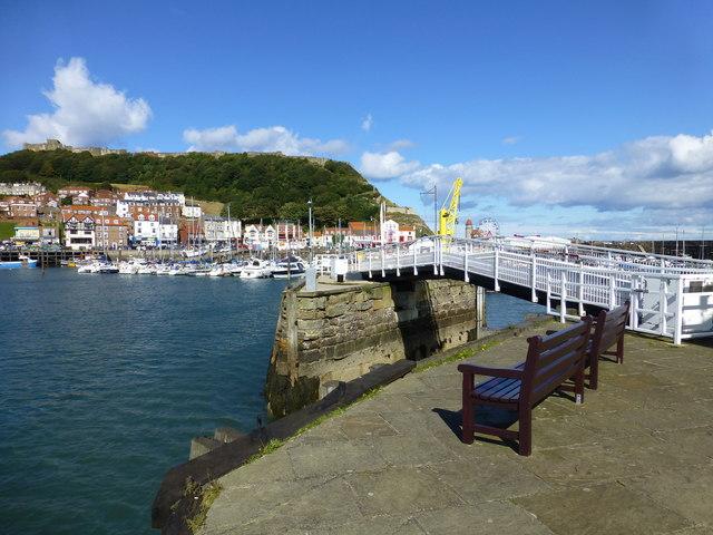 The drawbridge on Vincent's Pier