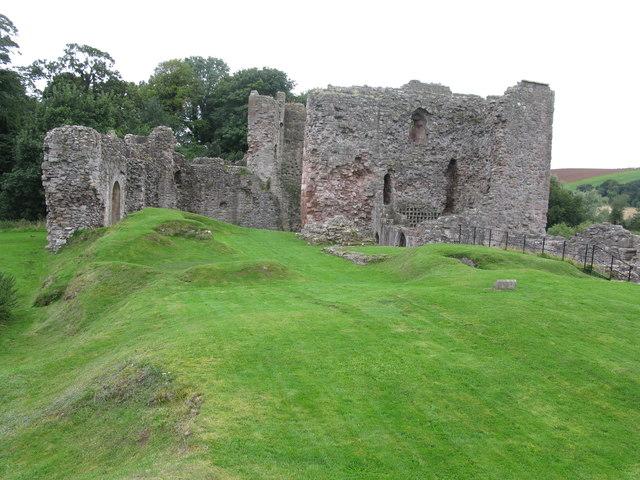Hailes Castle, south-west of East Linton