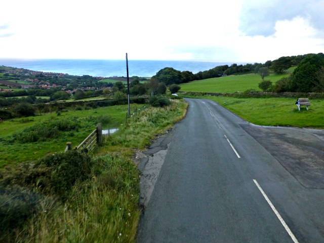 Road into Fylingthorpe near Brow Top