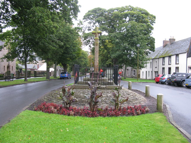 Market Cross, Main Street, Ormiston