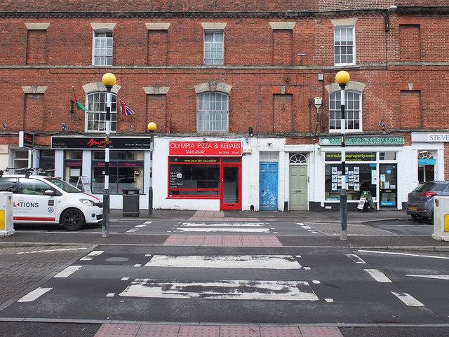 Zebra Crossing on George Street, Warminster