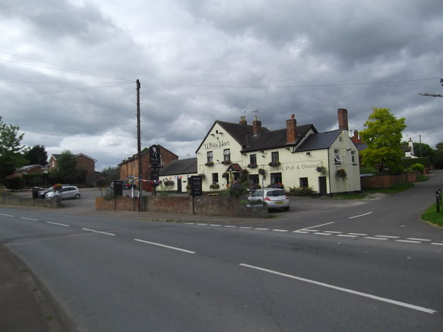The White Hart at Maisemore
