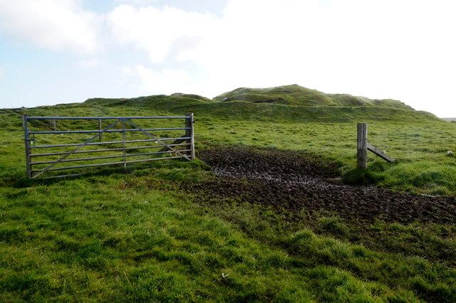 Underhoull Broch, Westing
