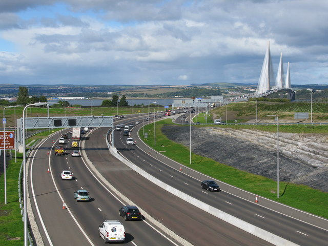 M90 - Southern Approach to the Queensferry Crossing