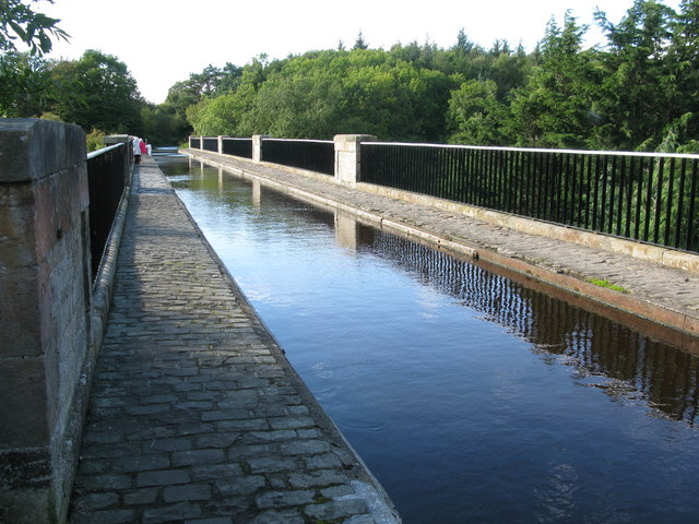 Almond Aqueduct (Lin's Mill Aqueduct), Union Canal